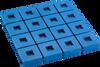 Vibration Isolators & Mounts // Vibration Isolation Pad Mounts // MAXI-FLEX EZ CUT PADS, Neoprene/Elastomeric Floor Mounted Non-Seismic -- Multiple-Layer-Pads-1 -Image