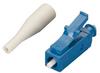 Fiber Optic Connector, Ceramic Ferrule, LC Single-Mode Simplex, 125-µm/0.9-mm -- FOT218