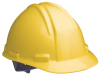 K2 Series Hard Hats > COLOR - Yellow > STYLE - Ratchet > UOM - Each -- A29R020000 -- View Larger Image