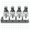 4 Way Clamping Valves -- Clamping Valve Manifolds