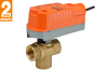 3-Way Zone Valve With Spring Return Actuator