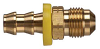 Brass Push-on Fitting - Male SAE 45 Degree -Image
