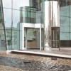 Fully Formed and Welded Custom Revolving Doors -- Crane 3000 Series - Image