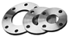 Carbon Steel Forged Plate Style Flanges 150# -Image