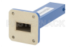 2 Watts Low Power Precision WR-75 Waveguide Load 10 GHz to 15 GHz -- PE6814 - Image