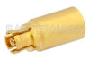 50 Ohm 0.5 Watts Precision Stainless Steel Mini SMP Female RF Load Up To 40 GHz -- PE6162 - Image