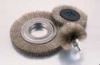 Crimped Wire Wheel Brush -- BDH-4S