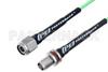 TNC Male to TNC Female Bulkhead Low Loss Cable 50 CM Length Using PE-P160LL Coax -- PE3C5253-50CM -Image