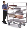 Banquet Cart,Stainless,3 Shelves,46x28 -- 581 - Image