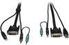 DVI / USB / Audio KVM Cable Kit, 15-ft. -- P759-015 - Image