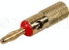 Deluxe Banana Plug - Red -- DELUXE-BANANA-R