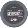 Hour Meter, Round, LCD, 4.5-28 VDC, DC,reset, 6 digit -- 70000807