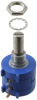 Rotary Potentiometers, Rheostats -- 3590P-1-102L-ND - Image