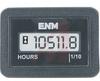 Hour Meter, LCD, rectangular , 8-28, VDC, DC, 6 digit -- 70000912