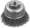 """3"""" x 5/8""""-11 XP .014 Carbon Crimp Wire Cup Brush -- DW49150 - Image"""
