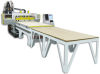 3 Axis CNC Router CabinetShop Series -- AutoProcessor 5'x10' L