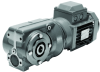Helical Worm Geared Motors -- Series C Helical Worm geared motors