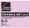 FOAMULAR® CW25 Extruded Polystyrene Insulation