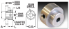 Precision Pin Type Dial Hubs (inch) -- S2006Y-125187 -Image