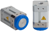 Magnetic gripper for handling metal sheets with holes, Stainless-steel housing base SGM-HD 40 G1/4-IG -- 10.01.17.00185