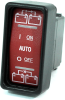 Blue Sea Systems 2146 Remote Control Contura Switch, LED Light, SPDT, On-Off-On -- 78010 - Image