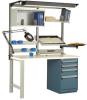 Workstation With Heavy-duty Cabinet -- R5WH5-3007