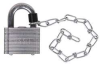 Steel Padlock,Government -- 6WNY8