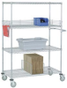 Stainless Steel Wire Shelf Truck -- T9H189478AB