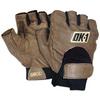 Half-Finger Thumb Web Impact Gloves - Large -- GLV1029L -- View Larger Image