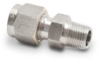 316 SS Compression Fitting for 1/4 inch diameter temperature probes -- CF14-125N -- View Larger Image