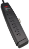 7 Outlet, 6 Ft. Corded Strip, 1500 Joules, Coaxial Protection - Home/Business Theater Suppressor -- HT706TV