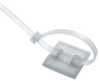 Push Mount Cable Tie Platforms -- Heyco® Nytye® -Image