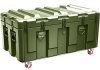 Pelican AL4824-1604 Single Lid Trunk Shipping Case - No Foam with Casters - Olive Drab -- PEL-AL4824-1604RPC137 -- View Larger Image