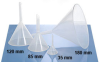 Natural Polypropylene Laboratory Analytical Funnels -- 241705
