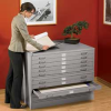 EDSAL 5-Drawer Steel Flat Files -- 4091123