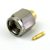 SMA Male Connector Solder Attachment For RG402 Cable