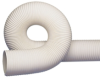 RFH White Thermoplastic Rubber Reinforced Hose with Wire Helix -- 48948