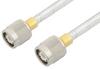 TNC Male to TNC Male Cable 60 Inch Length Using PE-SR401FL Coax, RoHS -- PE34282LF-60 -Image