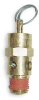 Air Safety Valve,Brass,1/8 MNPT,75 PSI -- 5LGJ5 - Image
