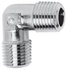 Nickel Plated Brass Pipe Fitting -- 2010 3/8 -- View Larger Image