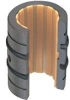 DryLin® R Self-aligning Linear Plain Bearings Low Clearance, Open, mm -- OJUM-23