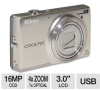 Nikon S6100 26269 Coolpix Digital Camera - 16 MegaPixels, 7x -- 26269