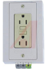 Outlet, Dual Utility, 120V, 15A, with Ground Fault Circuit Interruption -- 70207676