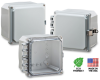 6X6X4 Premium Polycarbonate Enclosure -- H6064HLL