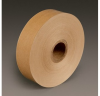 3M 6141 Brown Water Activated Tape - 1 1/2 in Width x 500 ft Length - 3.5 mil Thick - 97705 -- 051111-97705 - Image