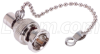 Protective Chained Cap Terminator, BNC 75 Ohm -- USP-CTB75