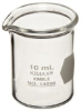 Kimble Kimax 14000-10 Glass 10mL Low Form Griffin Beaker -- 14000-10