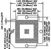 BGA SOCKET, 272POS, THROUGH HOLE -- 34C5782 - Image