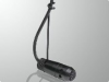 Compact, Hanging Style Condenser Microphone -- RE90H