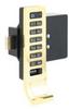 Shared Use Keypad Locks,Vertical Keypad -- 4GGZ6